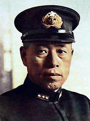 L'ammiraglio giapponese Isoroku Yamamoto.